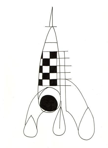 tin tin rocket